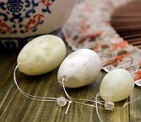 Нефритовые яйца 3 шт массажный набор