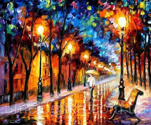 Картина по номерам Идейка Дождливая осень (KHO2624) 40 х 50 см