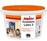 Alpina Premiumlatex 3 E.L.F. В3 2,35 л. Матовая, стойкая латексная краска