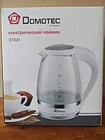 Электрический чайник Domotec DT-820 1,5 л