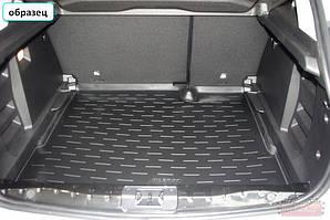 Коврик в багажник KIA PICANTO с 2012-✓ цвет:черный