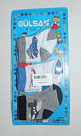 Носочки в роддом Турция в упаковке 3 шт. от 0 до 1 мес. для мальчиков