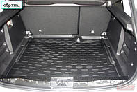 Коврик в багажник Nissan QASHQAI +2 с 2007-  ✓ цвет: черный