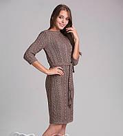 Классическое платье вязаное 811 , фото 1