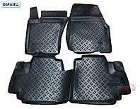 Коврики в салон Volkswagen Caddy (ФольксВаген Кадди) c 2004-✓2007- ✓ цвет: черный