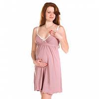 Ночная рубашка для беременных и кормящих мам со встроенным бюстом (коф. 6495779de90ed