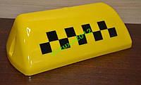 Стекло фонаря такси (шашка) с шашками