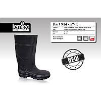 Сапоги LEMIGO BART 914-41 черные PVC