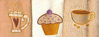 Набор кухонных полотенец Arya Lares Soft 30x50 6 шт в упаковке Кремовый