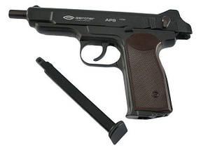 Пневматический пистолет Gletcher APS (BlowBack). Автоматический Пистолет Стечкина, копия. , фото 3