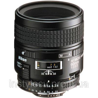(Б\У) NIKON AF 60 mm f/2.8D Micro-Nikkor