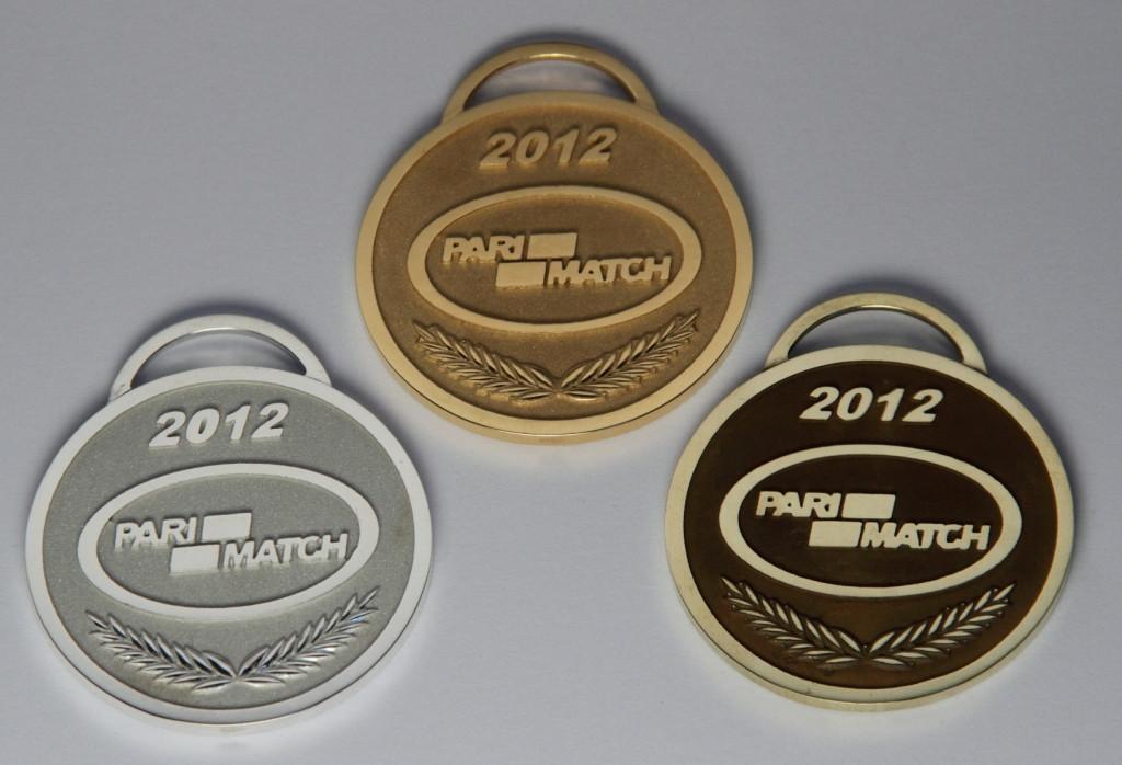 Медали юбилейные, сувенирные, корпоративные из золота и серебра. 6