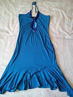 Нарядное вечернее выпускное платье сарафан 44-46 р