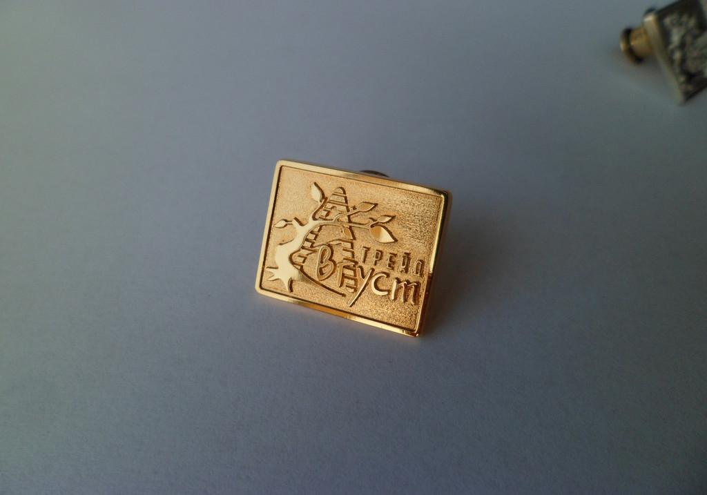 Значки из золота, серебра на заказ. Корпоративные, с логотипом, фирменные. 5