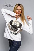 "Стильная женская толстовка "" MINNIE "" SK House"