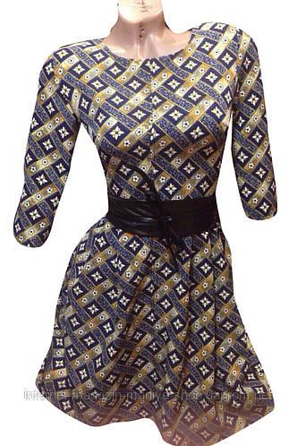 Платье женское с узором