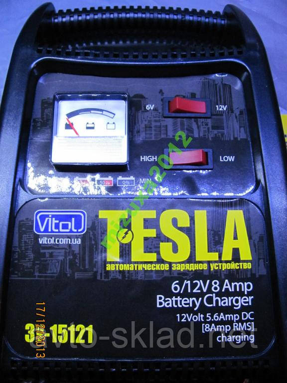 Зарядное устройство для аккумулятора 8А 6-12ВTESLА