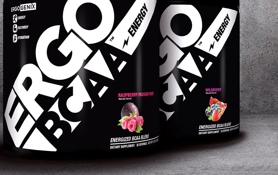 Аминокислоты Ergo BCAA + Energy (306 грамм, wildberry)