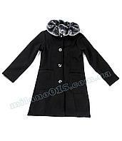 Пальто для девочки PEPERINA с воротником