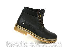 Зимние мужские кожаные ботинки SART