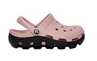 Женские Crocs Duet Sport Clog (крокс, кроксы) розовые