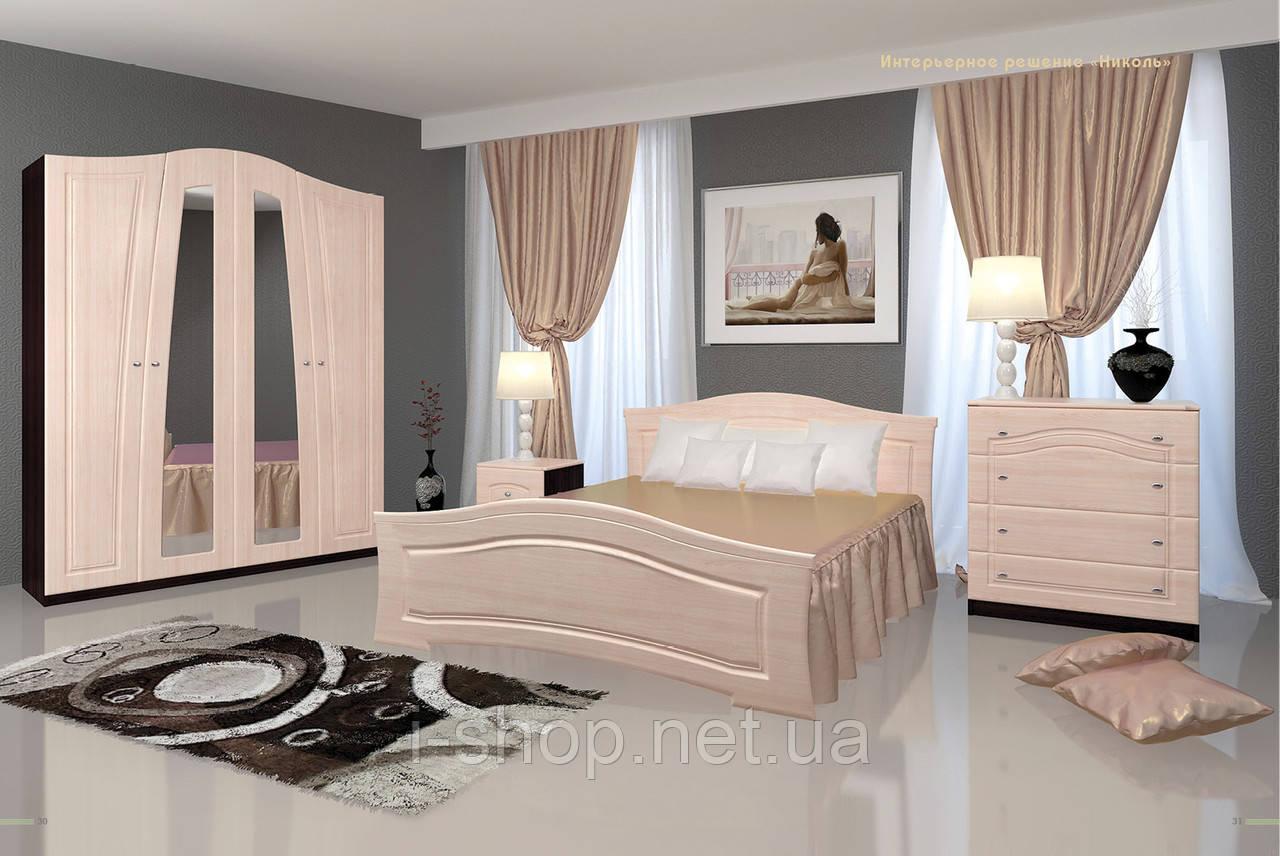Спальня Ніколь - вудлайн білий