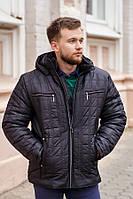 Зимняя мужская куртка М18 черная