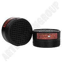 Фильтр газозащитный А1-7590 к полумаске NewEurmask 7400 (Италия)