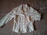 Рубашка блузка ЛЕН 44 р. Новая