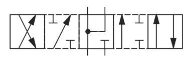 На фото изображена схема гидрораспределителя ВЕ10.24, РХ10.24, 1РЕ10.24, РЕ10.3.24