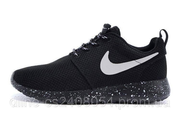 Mужские кроссовки Nike Roshe Run Oreo-Solo