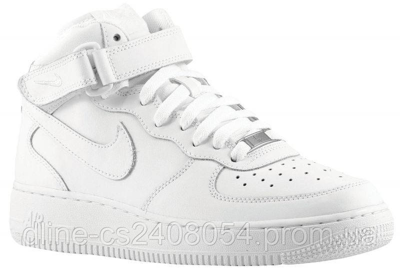 Mужские кроссовки Nike Air Force High Белые