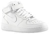 Mужские кроссовки Nike Air Force High Белые, фото 1