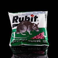 Рубит гранулы средство от мышей крыс 100 г.