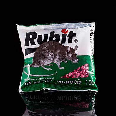 Рубит гранулы средство от мышей крыс 100 г(роден_Руб-100), фото 1
