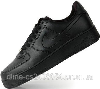 Mужские кроссовки Nike Air Force Low Black Mono