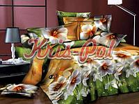 Комплект постельного белья ТМ KRIS-POL (Украина) ранфорс семейный 61197