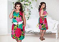 81980ed9fbe Стильное молодежное платье для пышных дам