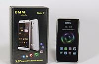 """Мобильный телефон Mate7 3.5"""" Black емкостный экран, стильный сенсорный мобильный телефон смартфон"""