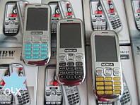 Мобильный телефон Nokia Asha 101 китайская копия, кнопочный телефон на 2 SIM карты, качественный телефон