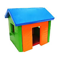 Домик в мягкие игровые комнаты для детей