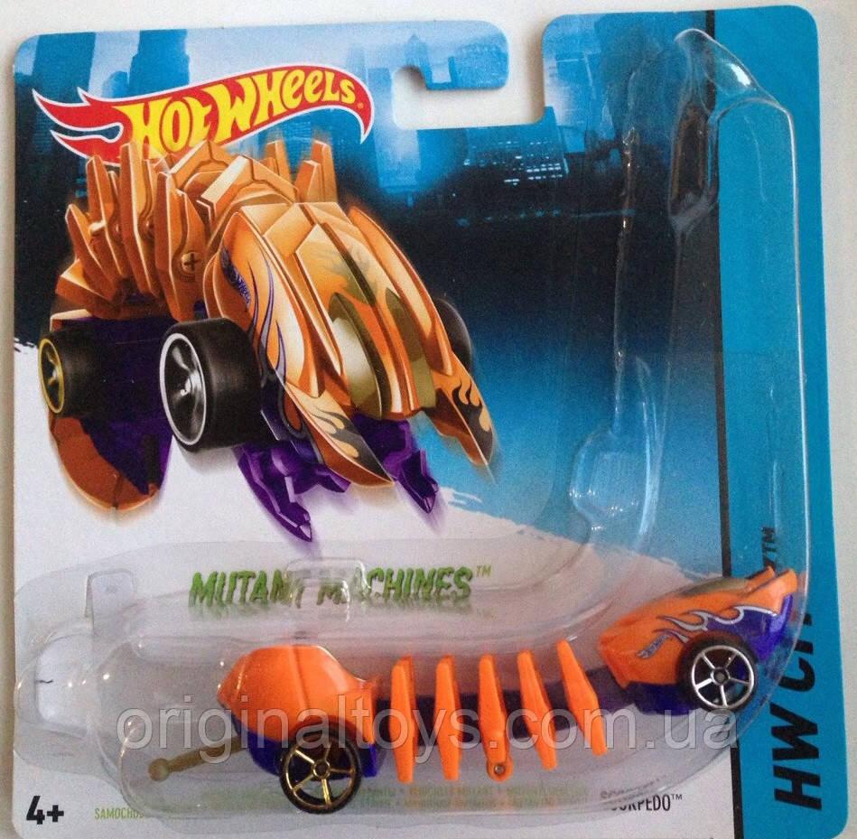 "Hot Wheels Машинки ""Мутант""  Scorpedo BBY78"