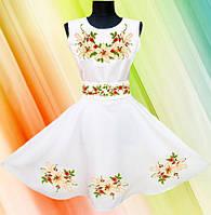 """#Заготовка для вишивки жіночої сукні """"Чарівна Лілея"""""""