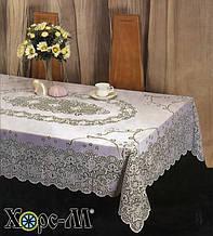 Скатерть ажурная 135х180 см