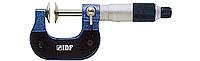 Микрометр МВП 25-50 мм, для мягких материалов, цена деления 0.01 мм, IDF(Италия)