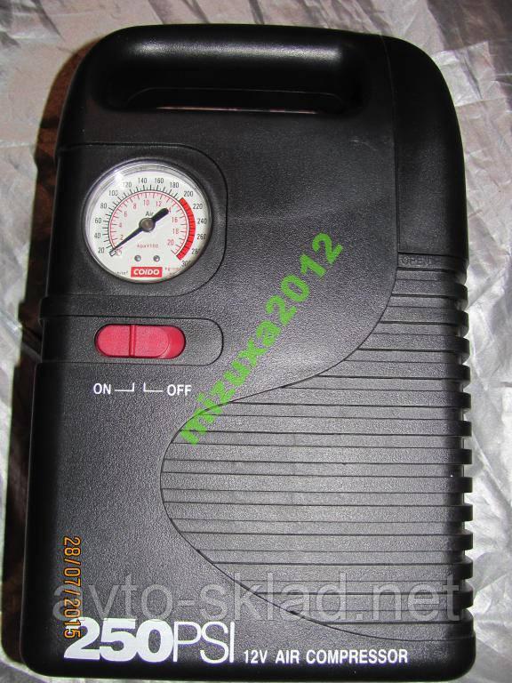 Компрессор COIDO 6825 (250psi) манометр