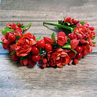Ободок Гармонія (червоний), фото 1