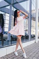 """Стильное молодежное платье мини """" Рассвет """" Dress Code"""