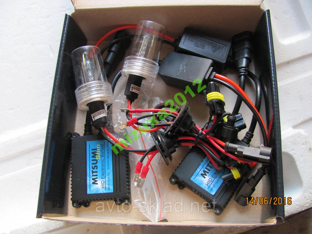 Ксенон Н1 HID 5000К DC MITSUMI комплект