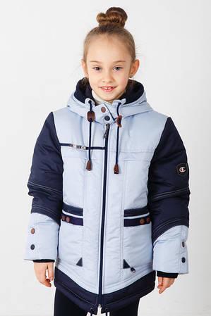 Куртка-парка весенняя для девочки Чемпионка